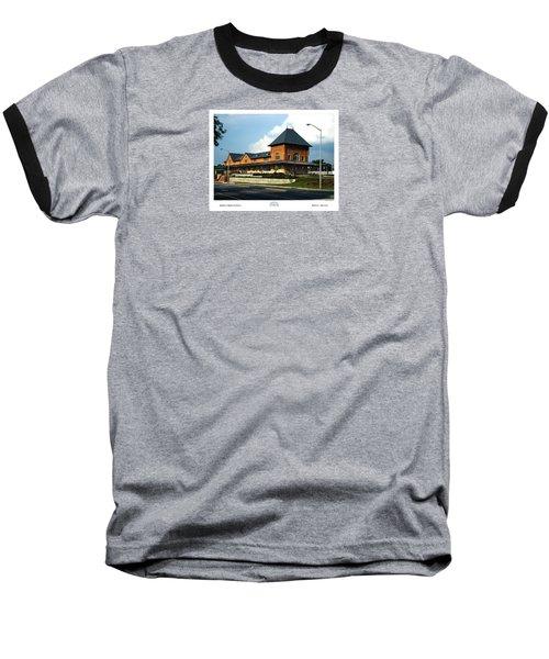 Bristol Train Station Bristol Virginia Baseball T-Shirt