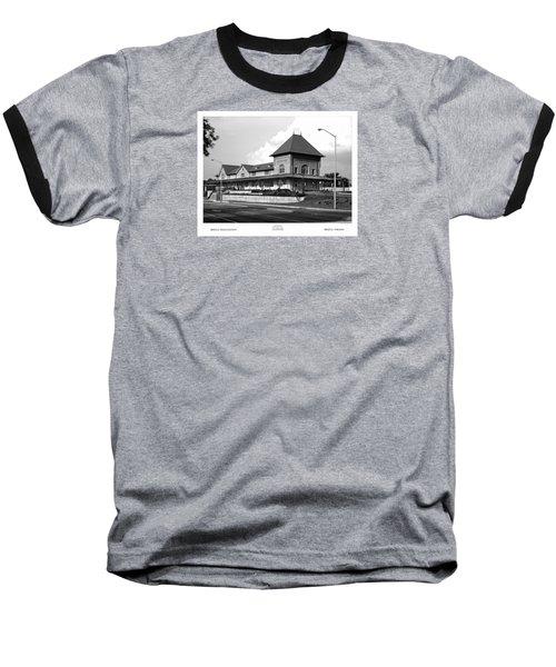 Bristol Train Station Bw Baseball T-Shirt