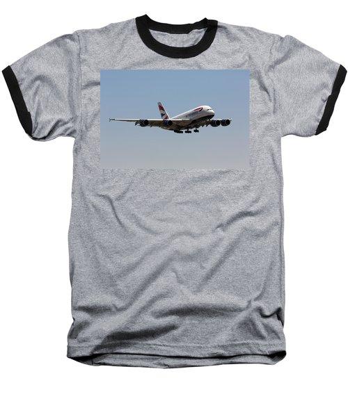 British Airways A380 Baseball T-Shirt