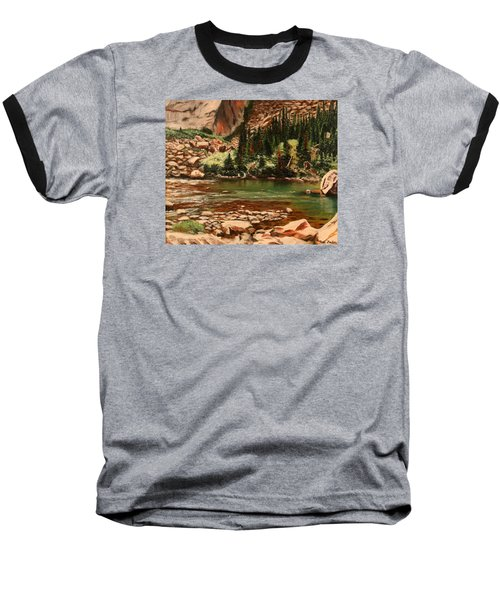 Broadwater Pond Baseball T-Shirt