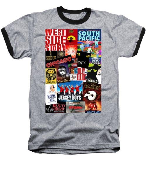 Broadway 1 Baseball T-Shirt