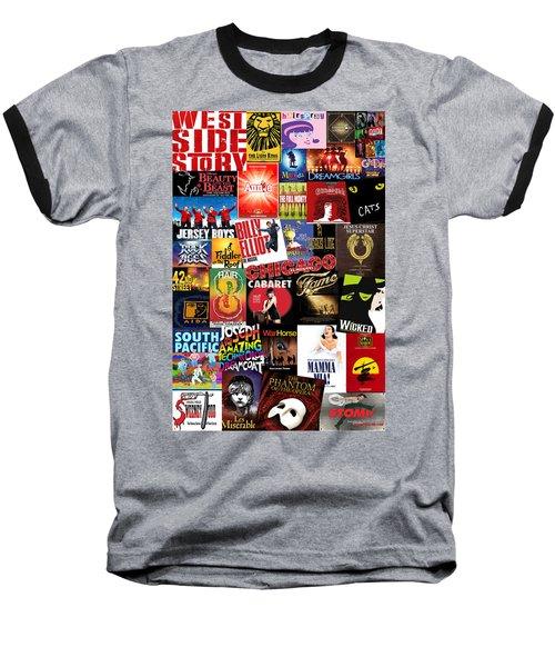 Broadway 4 Baseball T-Shirt