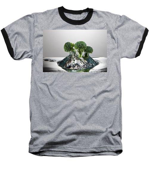 Broccoli Freshsplash Baseball T-Shirt