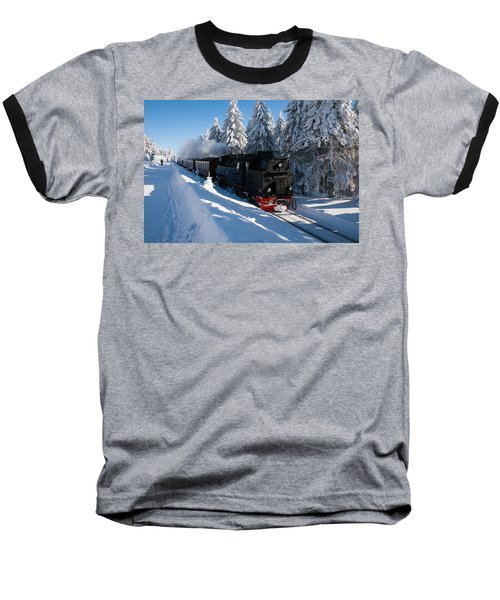 Brockenbahn Baseball T-Shirt