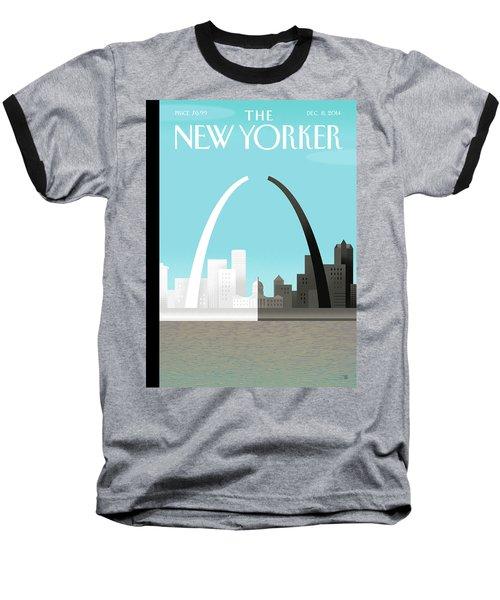 Broken Arch. A Scene From St. Louis Baseball T-Shirt