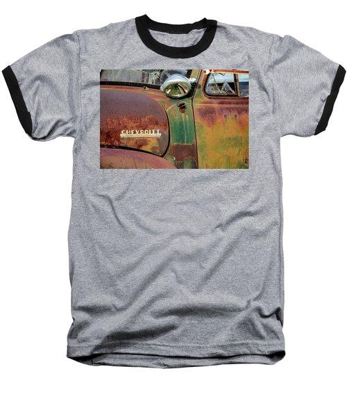 Baseball T-Shirt featuring the photograph Broken Dreams by Steven Bateson