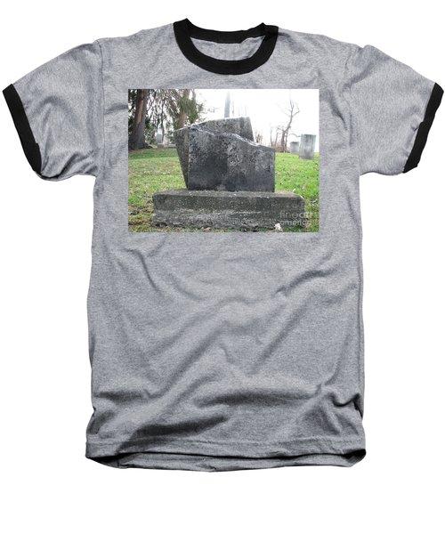 Baseball T-Shirt featuring the photograph Broken by Michael Krek