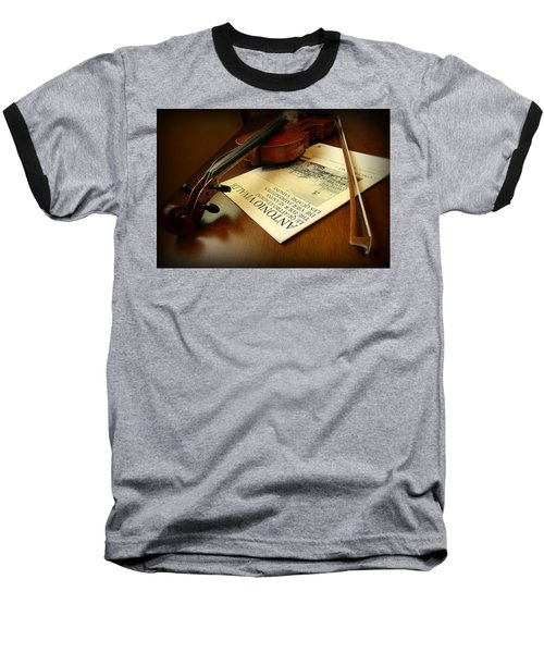 Baseball T-Shirt featuring the photograph Broken String by Lucinda Walter