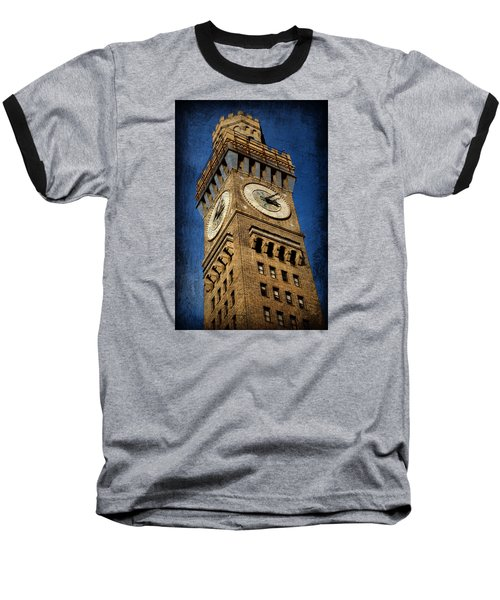 Bromo Seltzer Tower No 3 Baseball T-Shirt