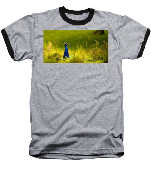 Bronx Zoo Peacock Baseball T-Shirt