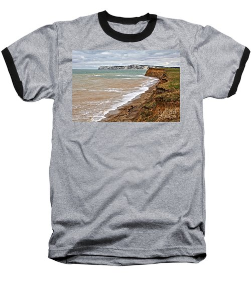 Brook Bay And Chalk Cliffs Baseball T-Shirt