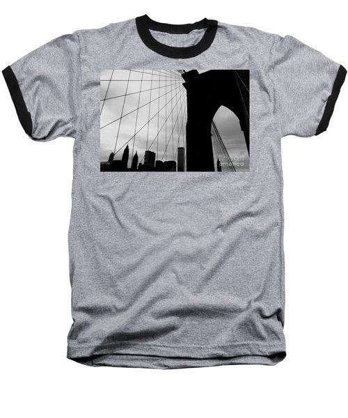 Brooklyn Bridge No.2 Baseball T-Shirt