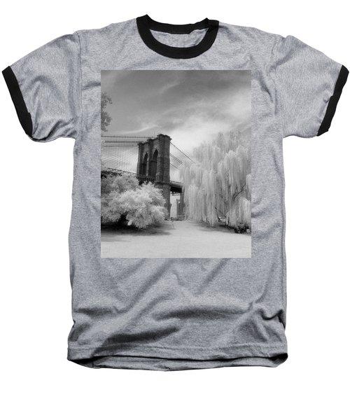 Brooklyn Bridge Willows Baseball T-Shirt