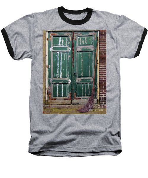 Broom Door Baseball T-Shirt