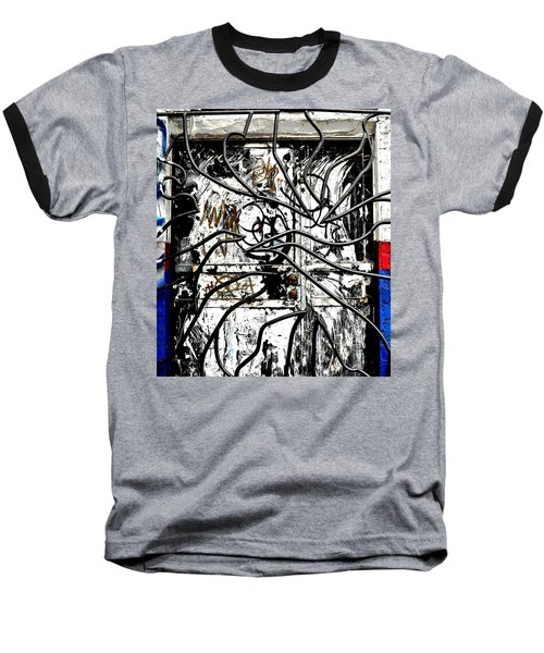 Broome Street Found Art Nyc Baseball T-Shirt by Steve Archbold