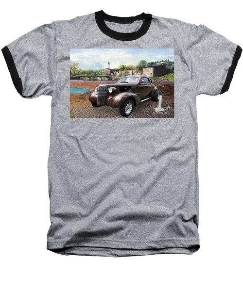 Baseball T-Shirt featuring the photograph Brown Classic Collector by Liane Wright