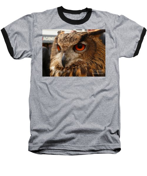 Baseball T-Shirt featuring the photograph Brown Owl by Vicki Spindler