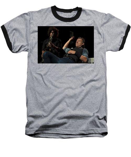Bruce And Jake At Greasy Lake Baseball T-Shirt