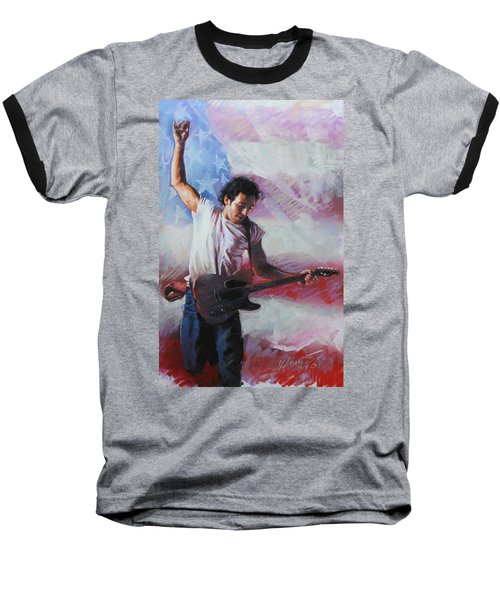 Bruce Springsteen The Boss Baseball T-Shirt