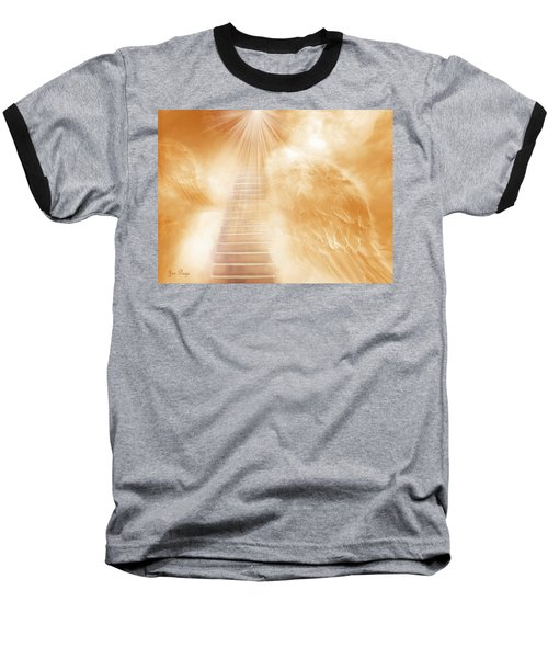 Brush Of Angels Wings Baseball T-Shirt