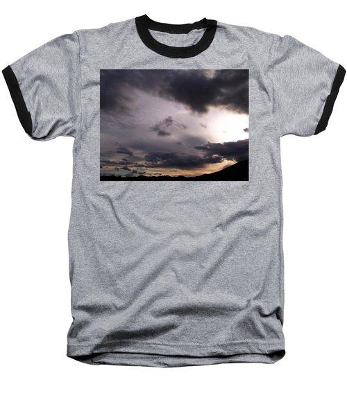 Brushing A Sunset Baseball T-Shirt