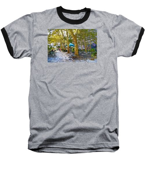 Bryant Park October Baseball T-Shirt