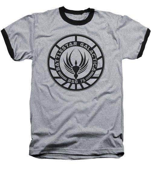 Bsg - Galactica Badge Baseball T-Shirt