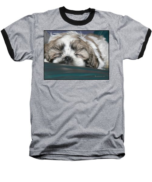 Baseball T-Shirt featuring the photograph Bubba by EricaMaxine  Price