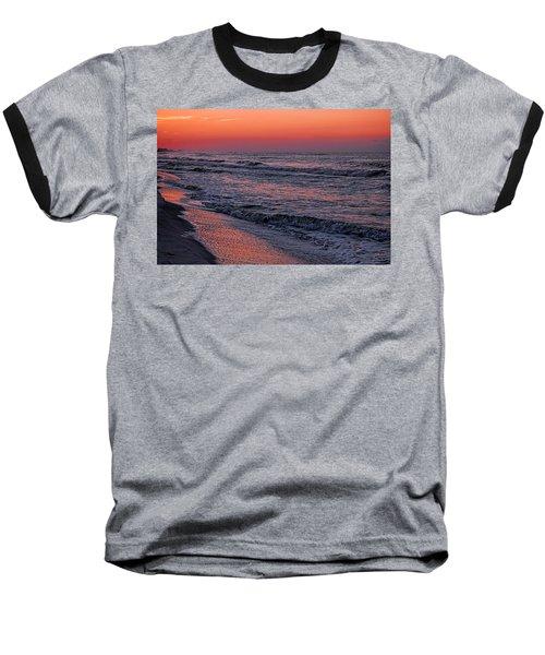Bubbling Surf Baseball T-Shirt by Michael Thomas