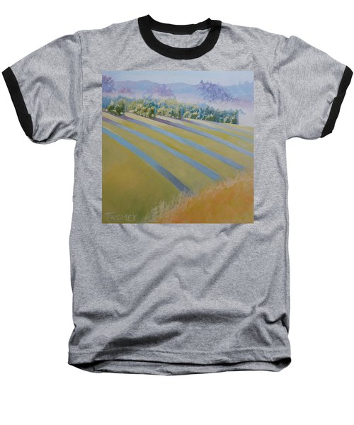 Buck Mountain Vineyards No.2 Baseball T-Shirt by Catherine Twomey