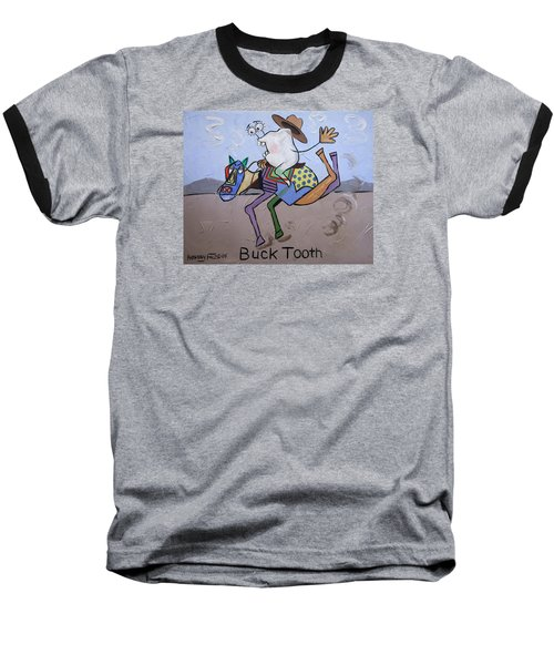 Buck Tooth Baseball T-Shirt