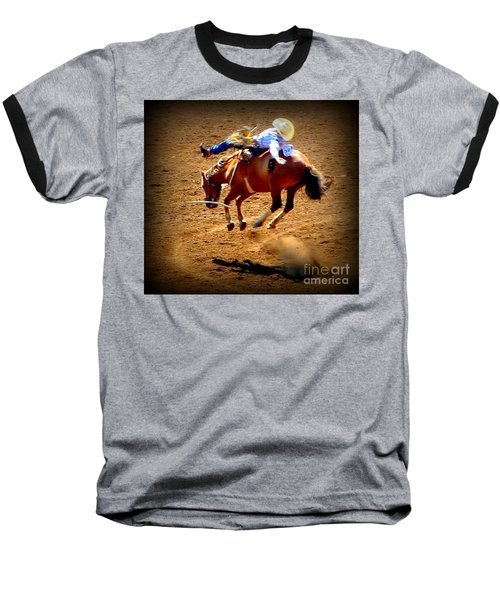 Bucking Broncos Rodeo Time Baseball T-Shirt