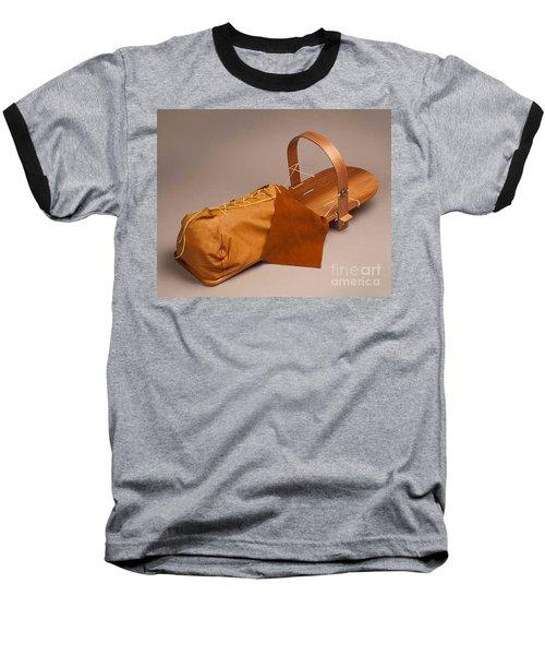 Buckskin Cradleboard Baseball T-Shirt