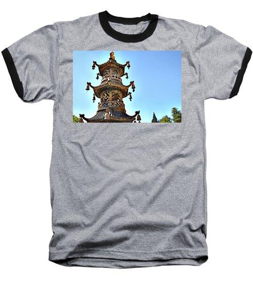 Buddhist Bells Baseball T-Shirt