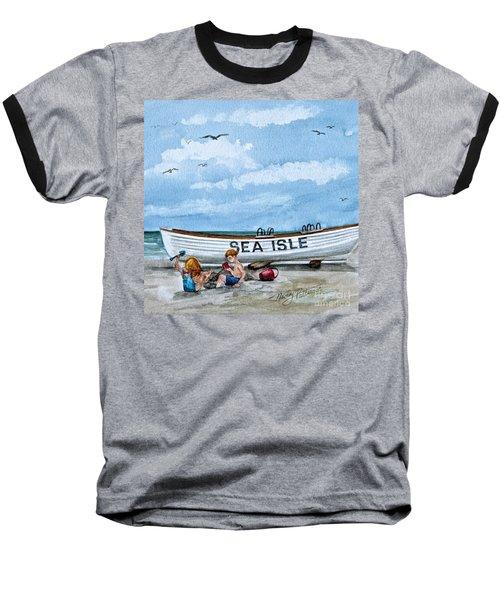 Buddies In Sea Isle City 2 Baseball T-Shirt