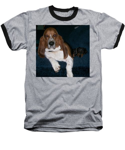 Baseball T-Shirt featuring the photograph Buddies by Peter Suhocke