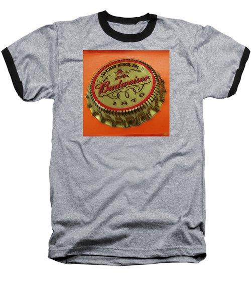 Budweiser Cap Baseball T-Shirt by Tony Rubino