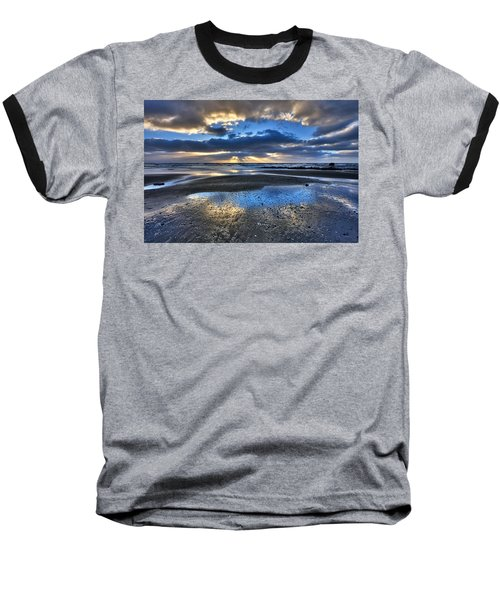 Bue Sky Reflections Baseball T-Shirt