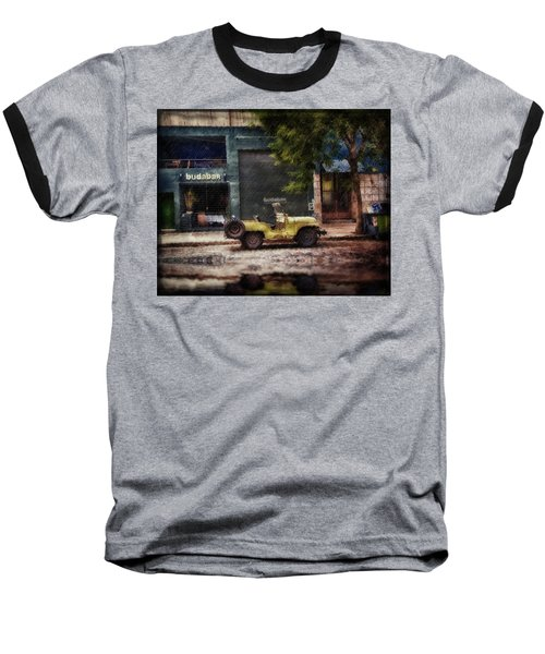 Buenos Aires Jeep Under The Rain Baseball T-Shirt