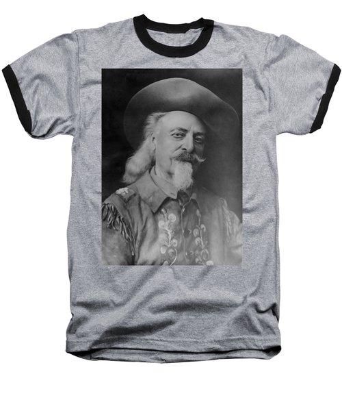 Baseball T-Shirt featuring the photograph Buffalo Bill Cody by Charles Beeler