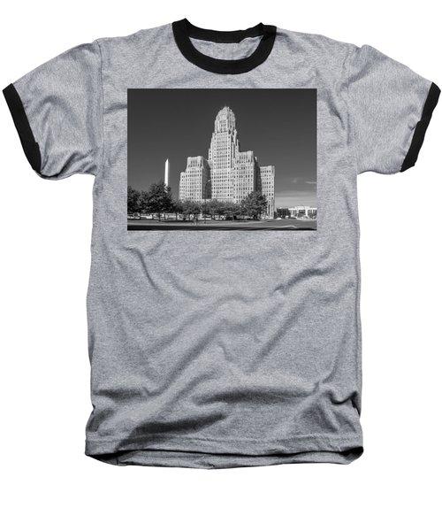 Buffalo City Hall 0519b Baseball T-Shirt