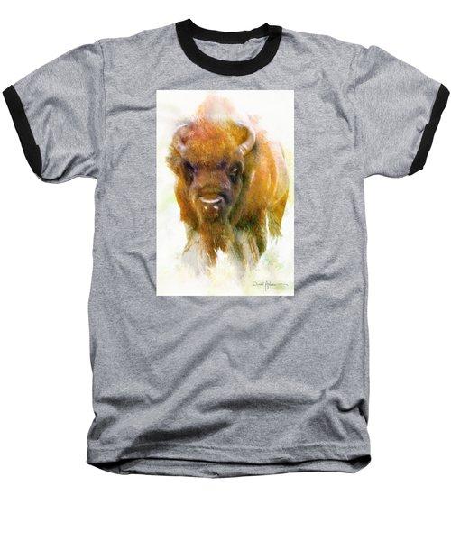 Da176 Buffalo II Daniel Adams Baseball T-Shirt