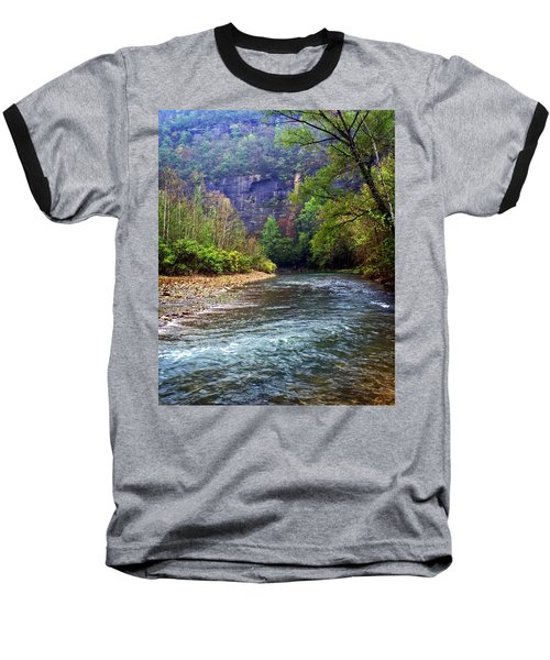 Buffalo River Downstream Baseball T-Shirt