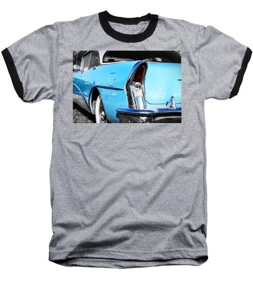 Buick Baby Blue Baseball T-Shirt