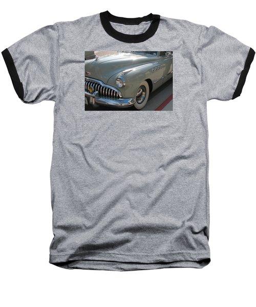 Buick Roadmaster Baseball T-Shirt by Connie Fox