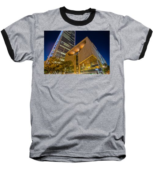 Buildings And Architecture Around Mint Museum In Charlotte North Baseball T-Shirt