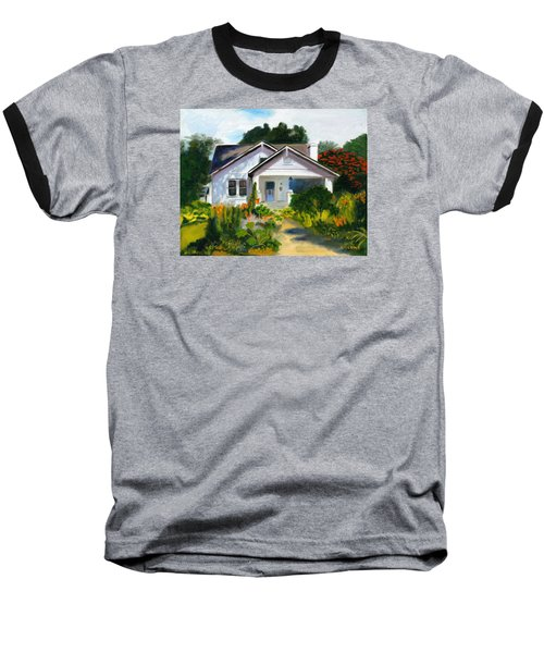 Bungalow In Sunlight Baseball T-Shirt