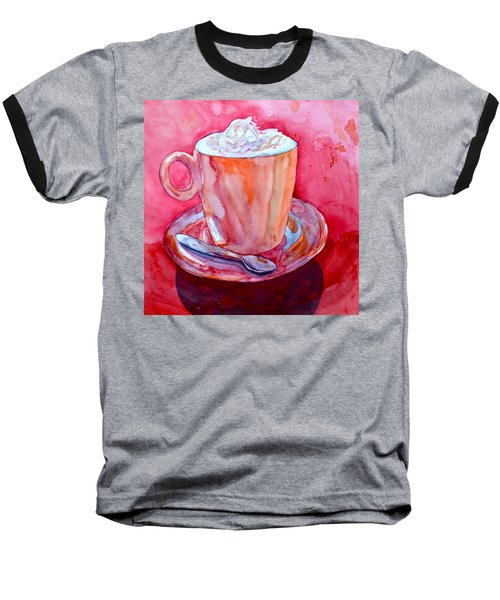 Baseball T-Shirt featuring the painting Buon Appetito by Beverley Harper Tinsley