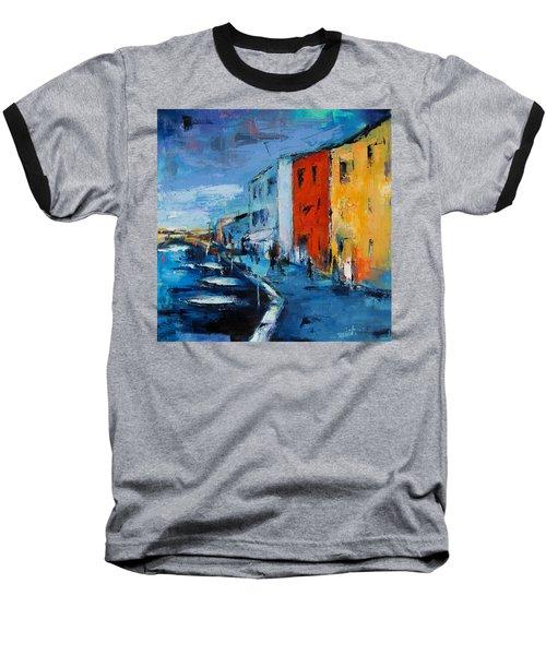 Burano Canal - Venice Baseball T-Shirt