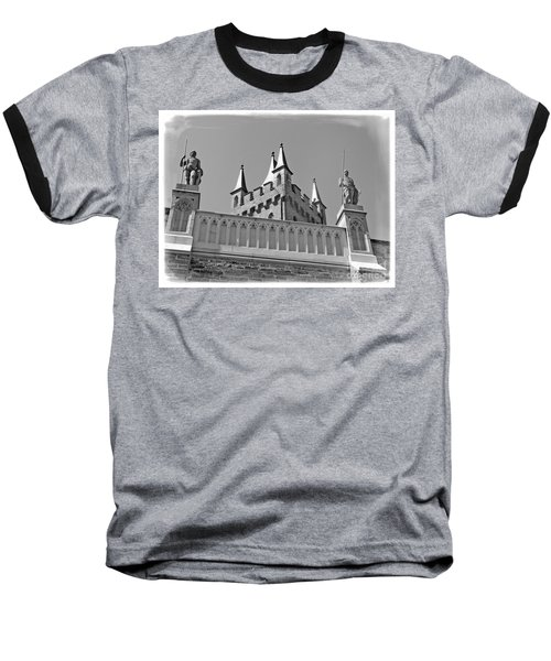 Baseball T-Shirt featuring the photograph Burg Hohenzollern by Carsten Reisinger